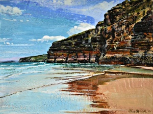 olive stack, print, limited edition print, ballybunion, co kerry, ireland