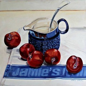 Jamie Oliver's Plums
