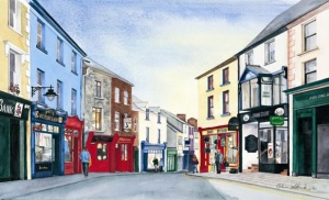 Ennis, Olive Stack, Print, Limited Edition Print, Co Clare, Ireland