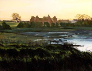 Lislaughtin Abbey, Ballylongford, Olive Stack, Print, Limited Edition Print, Co Kerry, Ireland