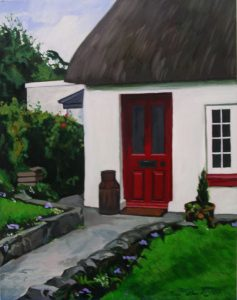 Red Door Adare, Olive Stack, Print, Limited Edition Print, Co Limerick, Ireland