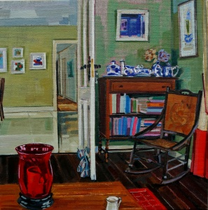 Interiors, Interior Paintings, Perspective, Interesting Interiors